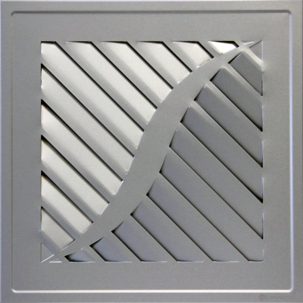 Вентиляционная решетка HQ-01R Серебро